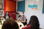 Nicole Ferroni, Radio EMA, le 30 avril 2021