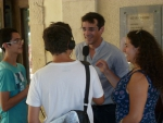 L'Interview de Vincent du groupe Deltas, Arles, 17 Juil 2014