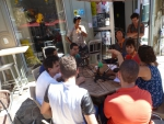 Le Plateau Radio en Direct! Arles 17 Juil 2014