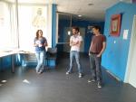 Frédérique Merle, Domas et Eddy Vaccaro, 1er Concours de Bande Dessinée de la Médiathèque de l'EMA