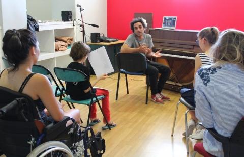 atelier jazz/Hip-Hop Cyril Benhamou, 17 mai 2017